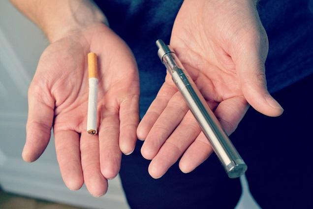 news vaping safer than smoking